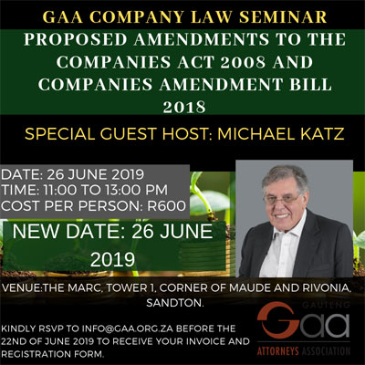 GAA-Seminar-Company-Law