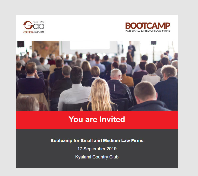 Bootcamp For Small and Medium Law Firms