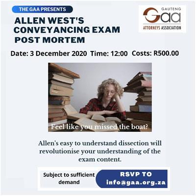 Allen-West-Conveyancing-Postmortem-400px